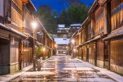 Historic Streets of Kanazawa Japan Stock Images