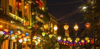 Historic streets, lanterns, Stock Photography