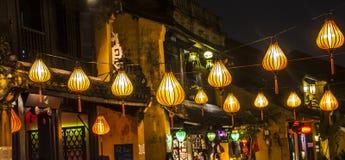 Historic streets, lanterns, Royalty Free Stock Photography
