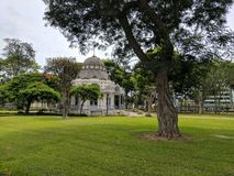 Historic Structure. Architectural feature in a park in Peru Stock Photos
