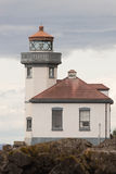 Historic Structure Outdoor Railing Lighthouse Tower Nautical Bea Royalty Free Stock Image