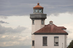 Historic Structure Outdoor Railing Lighthouse Tower  Stock Photos