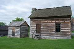 Historic Structure on the Wilderness Road Trail. Newbern, VA USA - May 16th : Historic Structure as part of the Wilderness Road Regional Museum collection of Royalty Free Stock Image