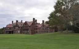 Historic Summer Mansion Royalty Free Stock Photos