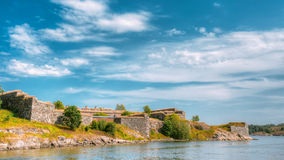 Historic Suomenlinna, Sveaborg Maritime Fortress Royalty Free Stock Images