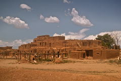 Historic Taos Pueblo Royalty Free Stock Image