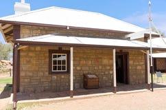 Historic Telegraph Office in Alice Springs Stock Photo