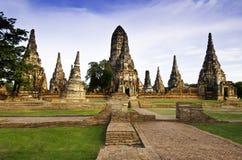 Historic Temple in Ayudhaya Stock Image