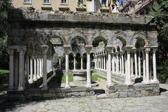Historic temple in Genoa, Italy Stock Image