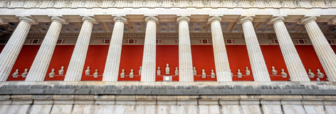 The historic temple Ruhmeshalle in Munich in Bavaria Stock Photo