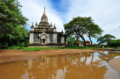 Historic temples in Bagan Royalty Free Stock Images