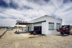 Historic Texaco station on Route 66 Stock Photo