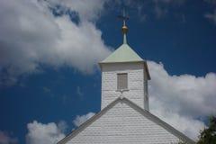 Historic Texas Church Stock Photography