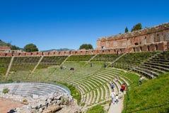 Historic theatre arena of Taormina Royalty Free Stock Photos