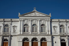 Historic Theatre in Iquique Stock Photography