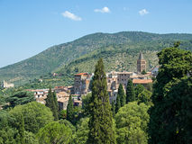 Historic Tivoli, Italy Stock Images
