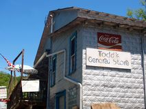 Historic Todd, North Carolina Stock Image