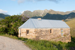 Historic tollhouse in the Montagu Pass Stock Photos