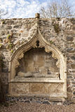 Historic tomb at Fordyce Kirk in Aberdeenshire. Royalty Free Stock Photos