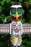 Historic totem pole stock photos