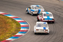 Historic touring car championship Royalty Free Stock Photography