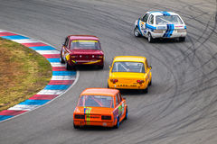 Historic touring car championship Stock Image