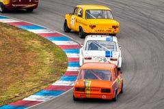 Historic touring cars championship Royalty Free Stock Image