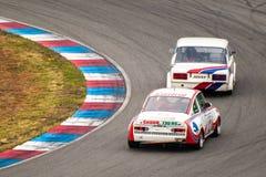 Historic touring cars championship Royalty Free Stock Photos