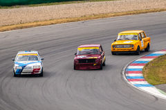 Historic touring cars championship Royalty Free Stock Photo