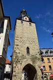 A historic tower in Coburg, Germany Stock Image