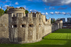 Historic Tower of London, England Royalty Free Stock Photography