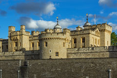 Historic Tower of London, England Royalty Free Stock Photos
