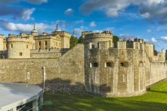 Historic Tower of London, England Royalty Free Stock Images