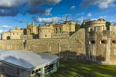 Historic Tower of London, England, Great Britain Royalty Free Stock Photography