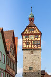 Historic tower, Schwaebisch Hall, Germany Royalty Free Stock Photography