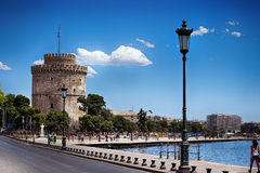 Historic Tower of Thessaloniki Royalty Free Stock Photography
