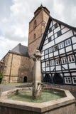 Historic town alsfeld hessen germany Stock Image