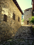 Historic center of Andorra La Vella Royalty Free Stock Image