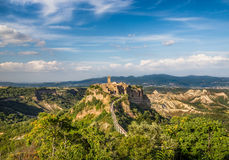 Historic town of Civita di Bagnoregio, Lazio, Italy Stock Images