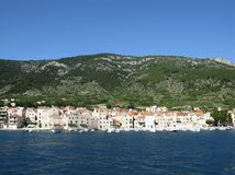 Historic town in Croatia Stock Images