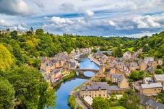 Historic town of Dinan, Bretagne, France Royalty Free Stock Photos