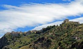 Fiumefreddo di bruzio. The historic town of fiumefreddo di bruzio in italy royalty free stock images