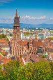 Historic town of Freiburg im Breisgau, Baden-Wurttemberg, German Stock Photos