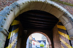 Historic town gate of Bedburg Alt-Kaster, Germany Stock Image