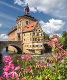Historic town hall in Bamberg (Germany) Royalty Free Stock Images