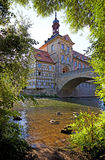 Historic town hall of Bamberg Royalty Free Stock Images