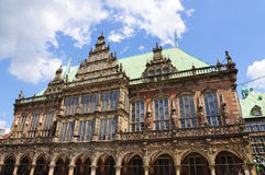 Historic town hall of Bremen, Germany Royalty Free Stock Image