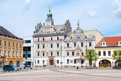 Historic town hall Stock Photo