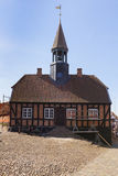 Historic town hall of Ebeltoft, Denmark Stock Photo