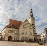 Historic town hall of Gardelegen. In Germany Stock Photo
